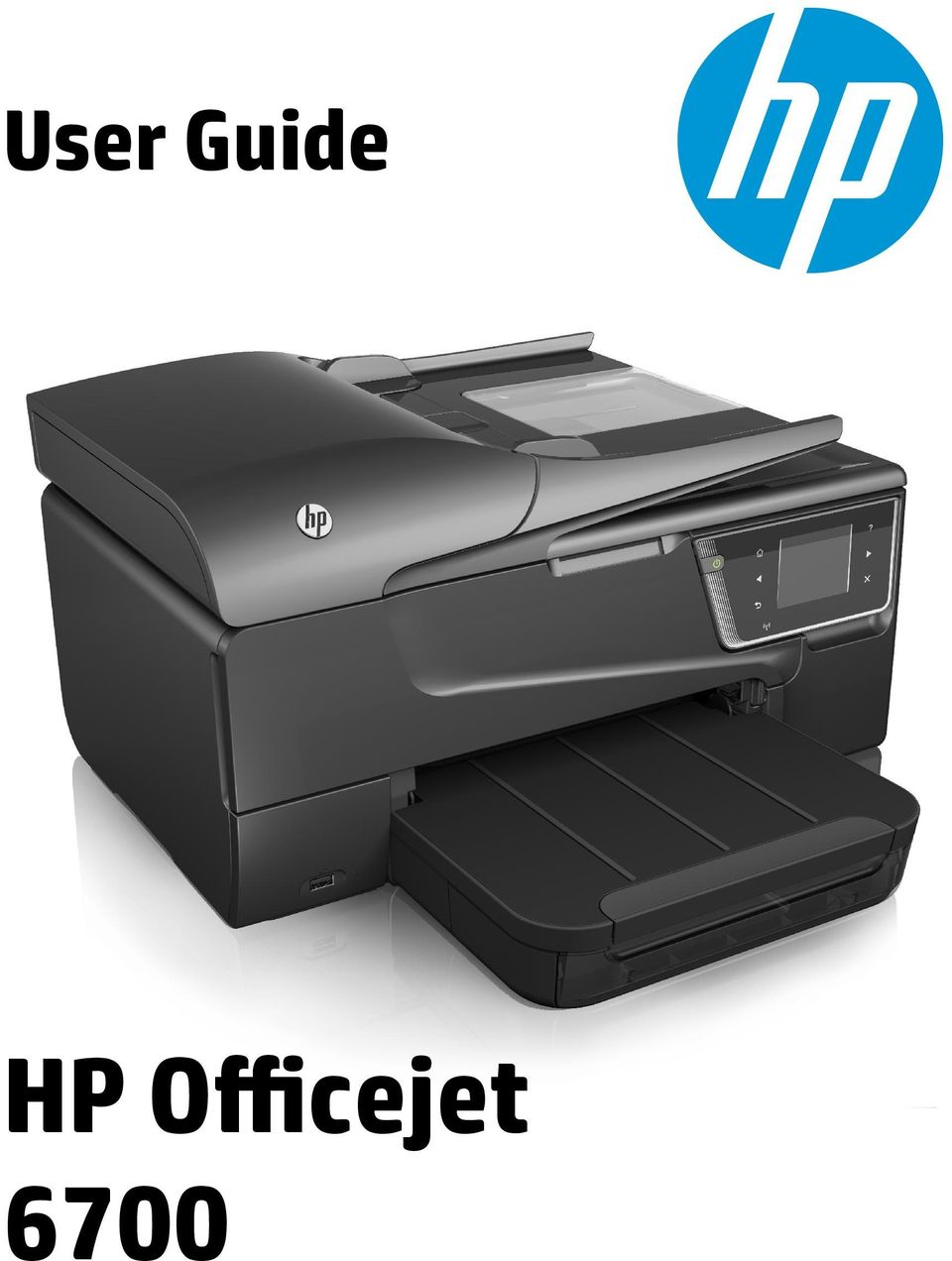 2 HP Officejet 6700 e-all-in- One series User Guide