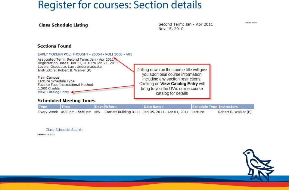 STUDENT REGISTRATION TUTORIAL: HOW TO REGISTER FOR COURSES - PDF
