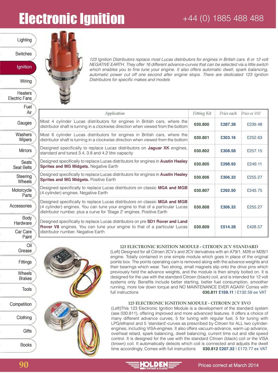 Ignition Leads +44 (0) - PDF