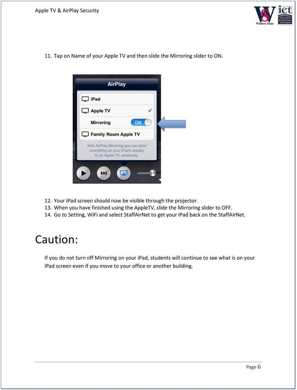 APPLE TV & AIRPLAY SECURITY - PDF