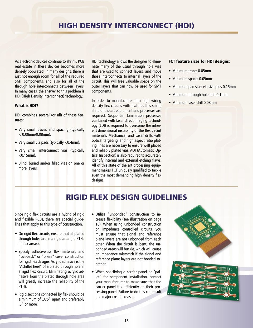 Flexible Circuit And Heater Design Guide Pdf Layer 1 Oz Pcb Printed Board Cover Film Supplier In Many Cases The Answer To This Problem Is Hdi High Density Interconnect