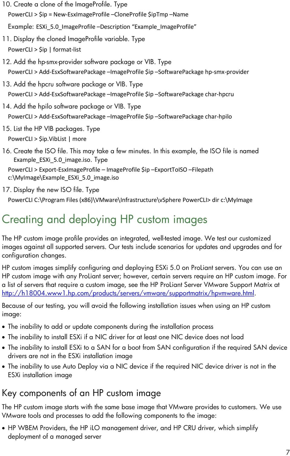 Deploying and updating VMware vsphere 5 0 on HP ProLiant Servers - PDF