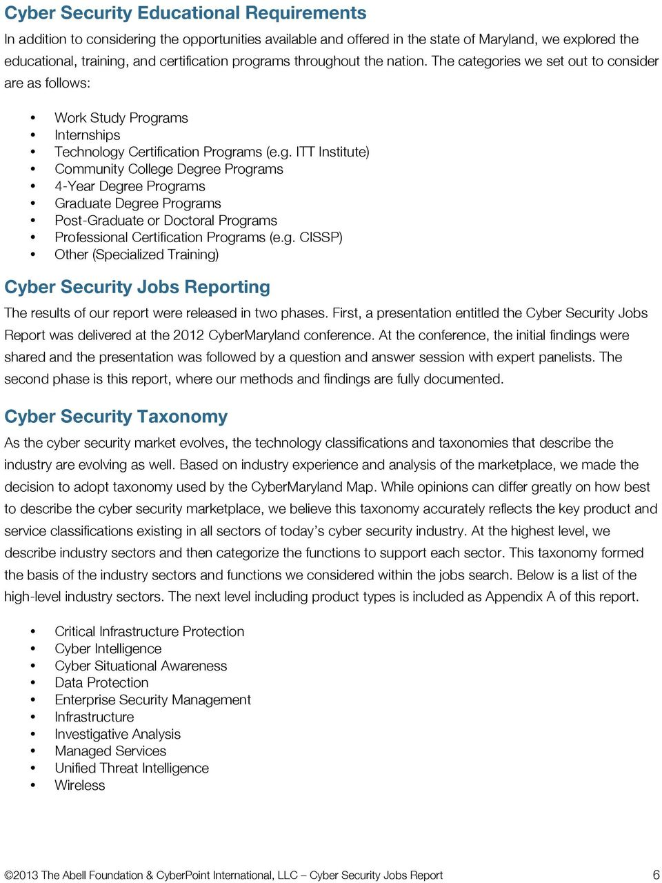 Cyber Security Jobs Report - PDF