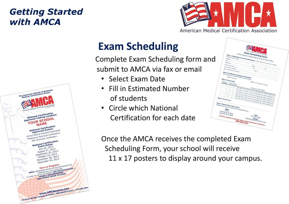 Getting Started With The Amca Online Pdf
