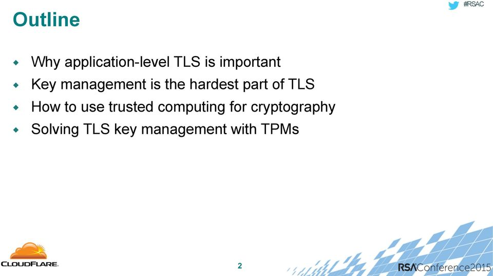 part of TLS How to use trusted computing
