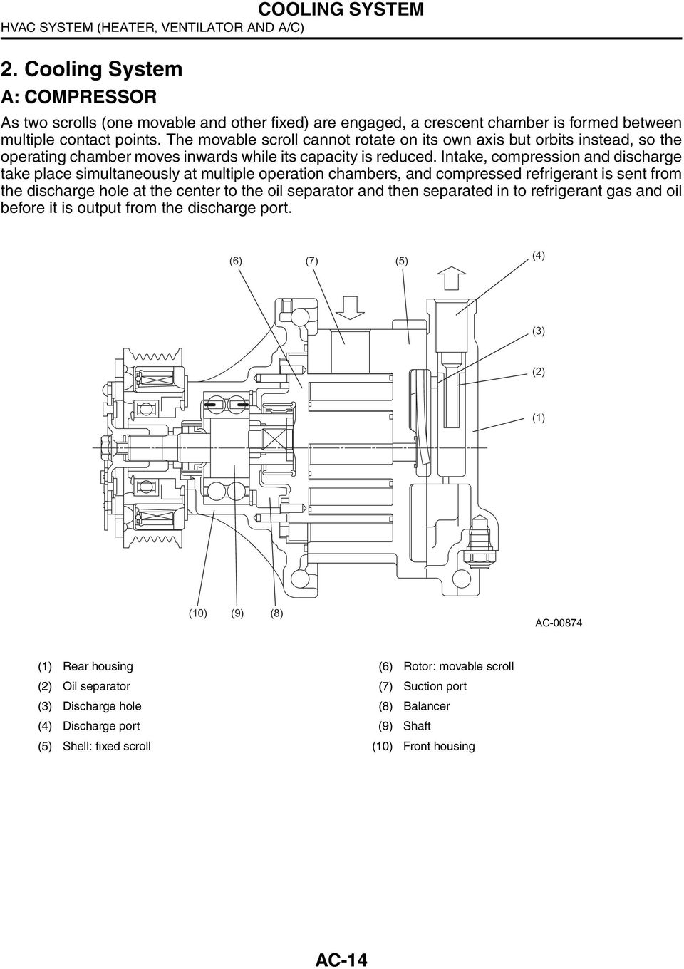 Mazda 3 Service Manual: Airflow Mode Actuator RemovalInstallation Full Auto Air Conditioner