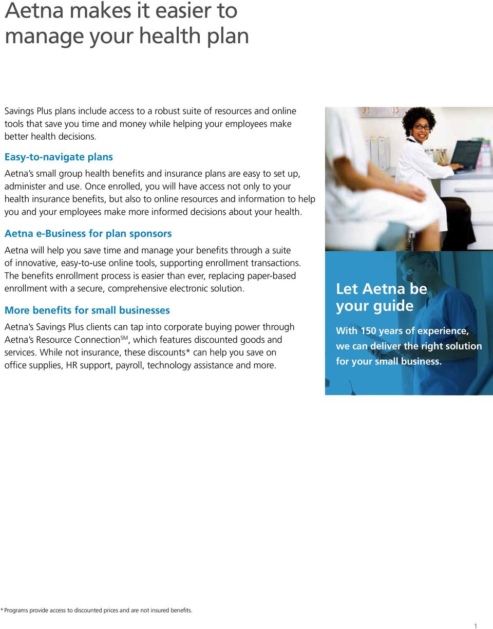 aetna small business plans