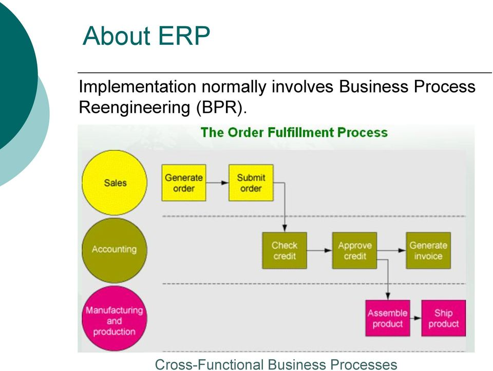 erp and business processes pdf