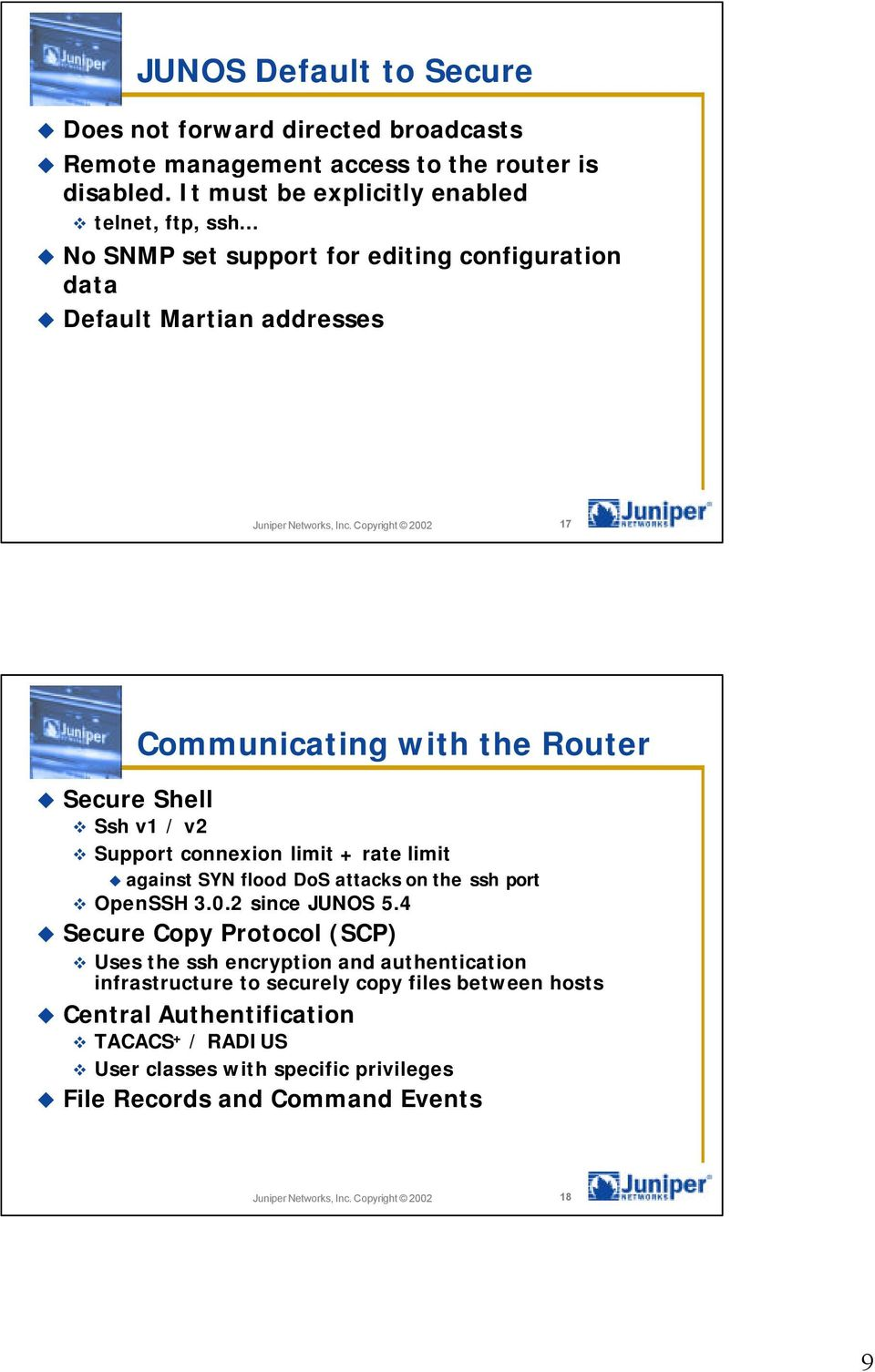 Securing Networks with Juniper Networks - PDF