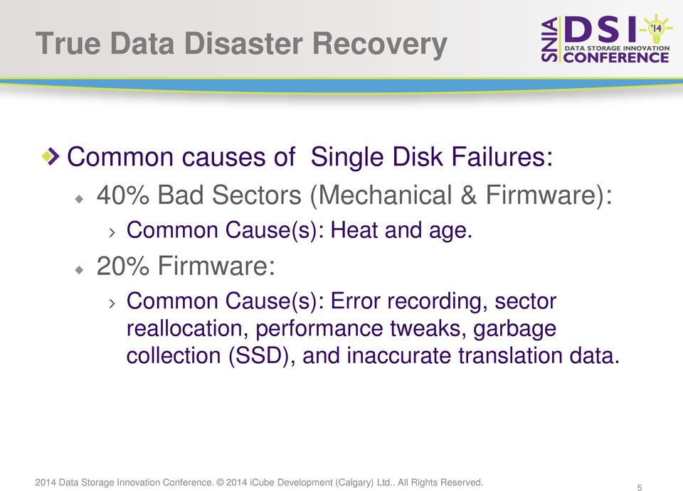True Data Disaster Recovery  PRESENTATION TITLE GOES HERE