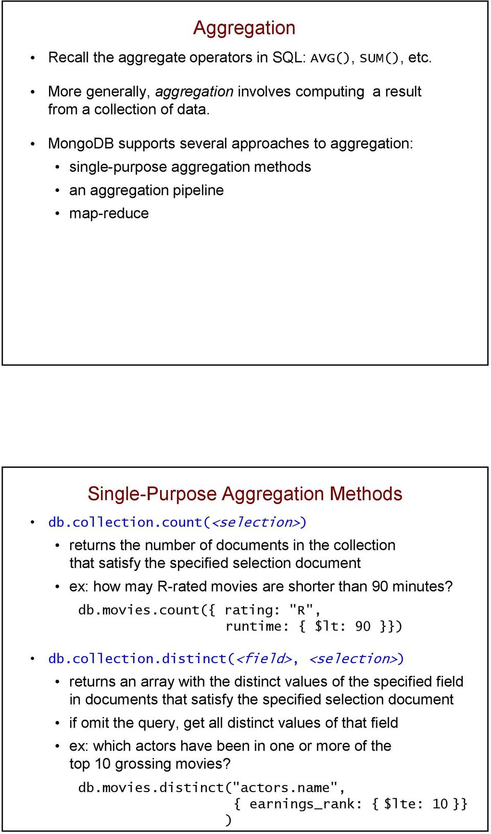 NoSQL Databases, part II - PDF