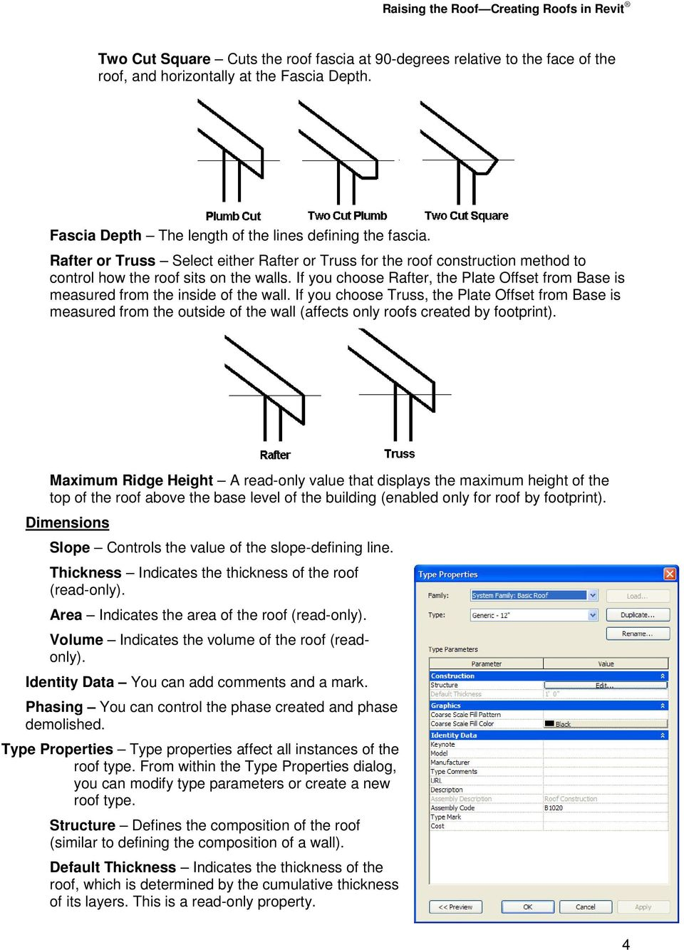 Raising the Roof Creating Roofs in Revit David Cohn - PDF
