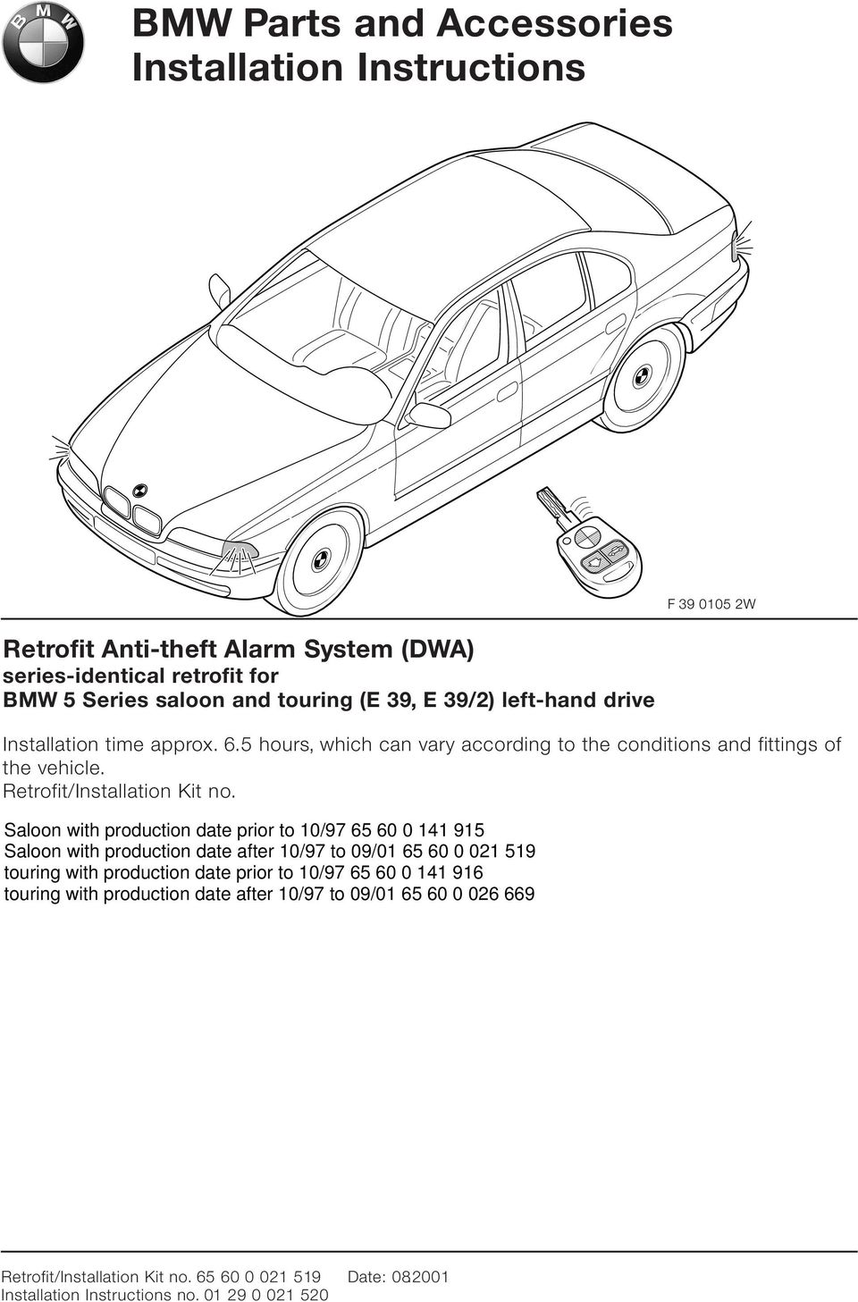 Bmw Parts And Accessories Installation Instructions Pdf 2011 R1200rt Wiring Diagram Time Approx 6