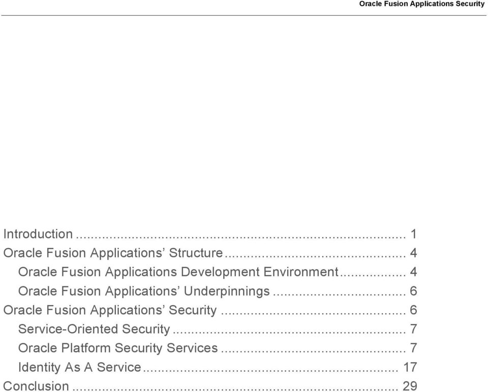 Oracle Fusion Applications Security Leveraging Oracle