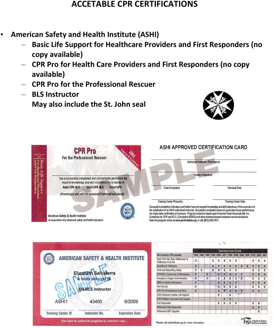 Approved Blscpr And Acls Education For Ems Provider Certification