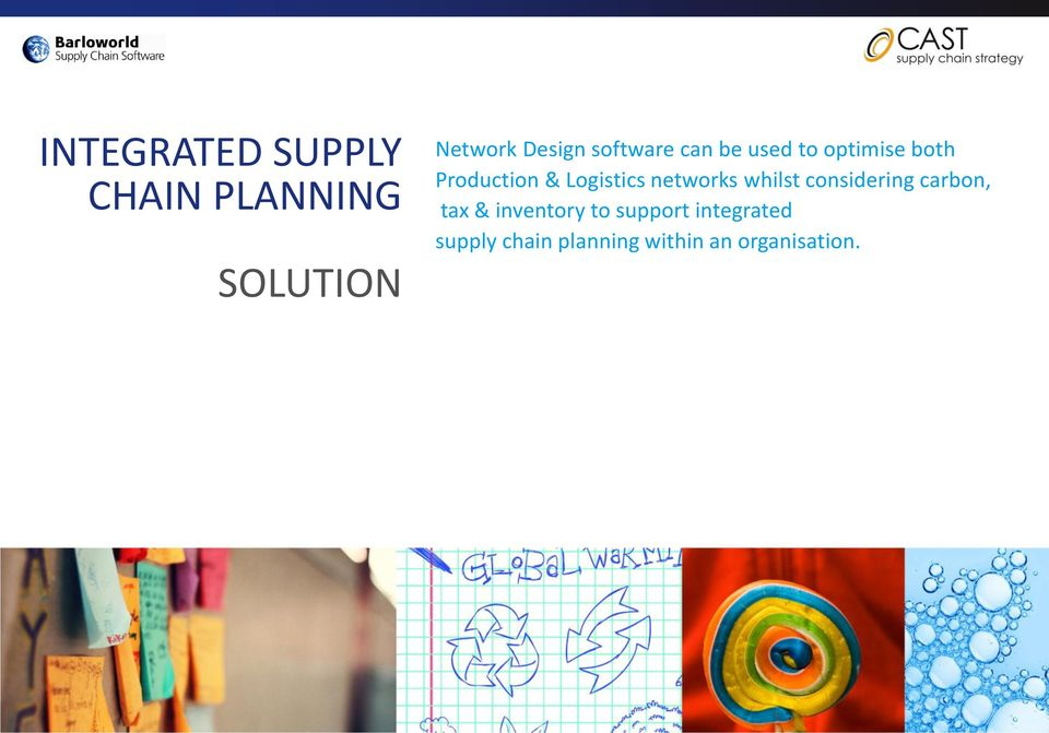 INTEGRATED SUPPLY CHAIN PLANNING IN NETWORK OPTIMISATION - PDF