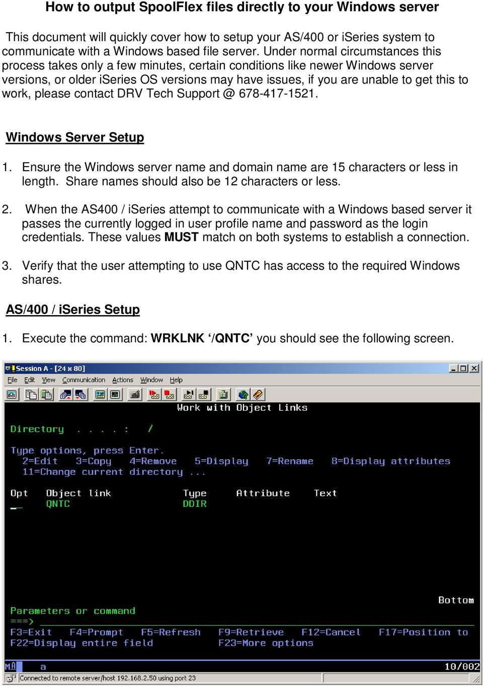 How to output SpoolFlex files directly to your Windows server - PDF