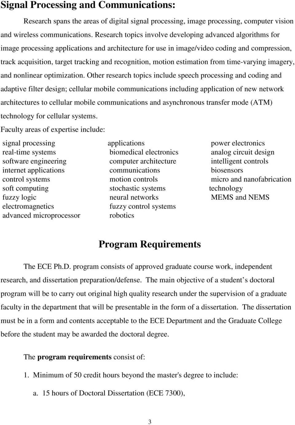 Electrical and Computer Engineering (ECE) - PDF