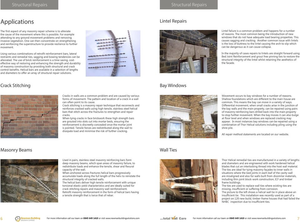 MODERN METHODS OF STRUCTURAL, MASONRY AND CONCRETE REPAIR - PDF