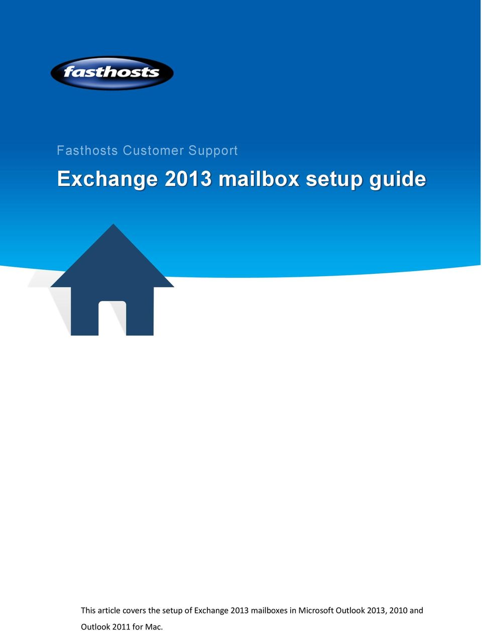 setup of Exchange 2013 mailboxes in