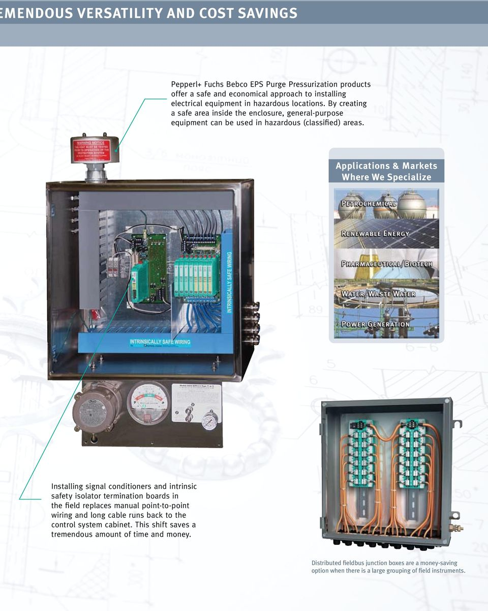 PROCESS AUTOMATION JUNCTION BOX SELECTION GUIDE FOR FIELDBUS