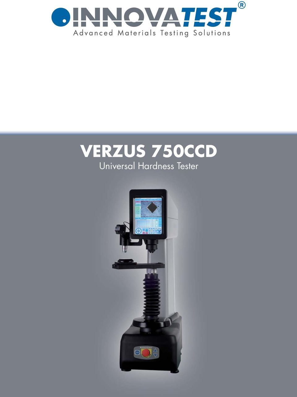 Verzus 750ccd Universal Hardness Tester Pdf Spannfixcircuitboardholder 2 Testers Microscope With High Resolution Ccd Camera Industrial 84 Lcd Touch Screen For Easy Operation