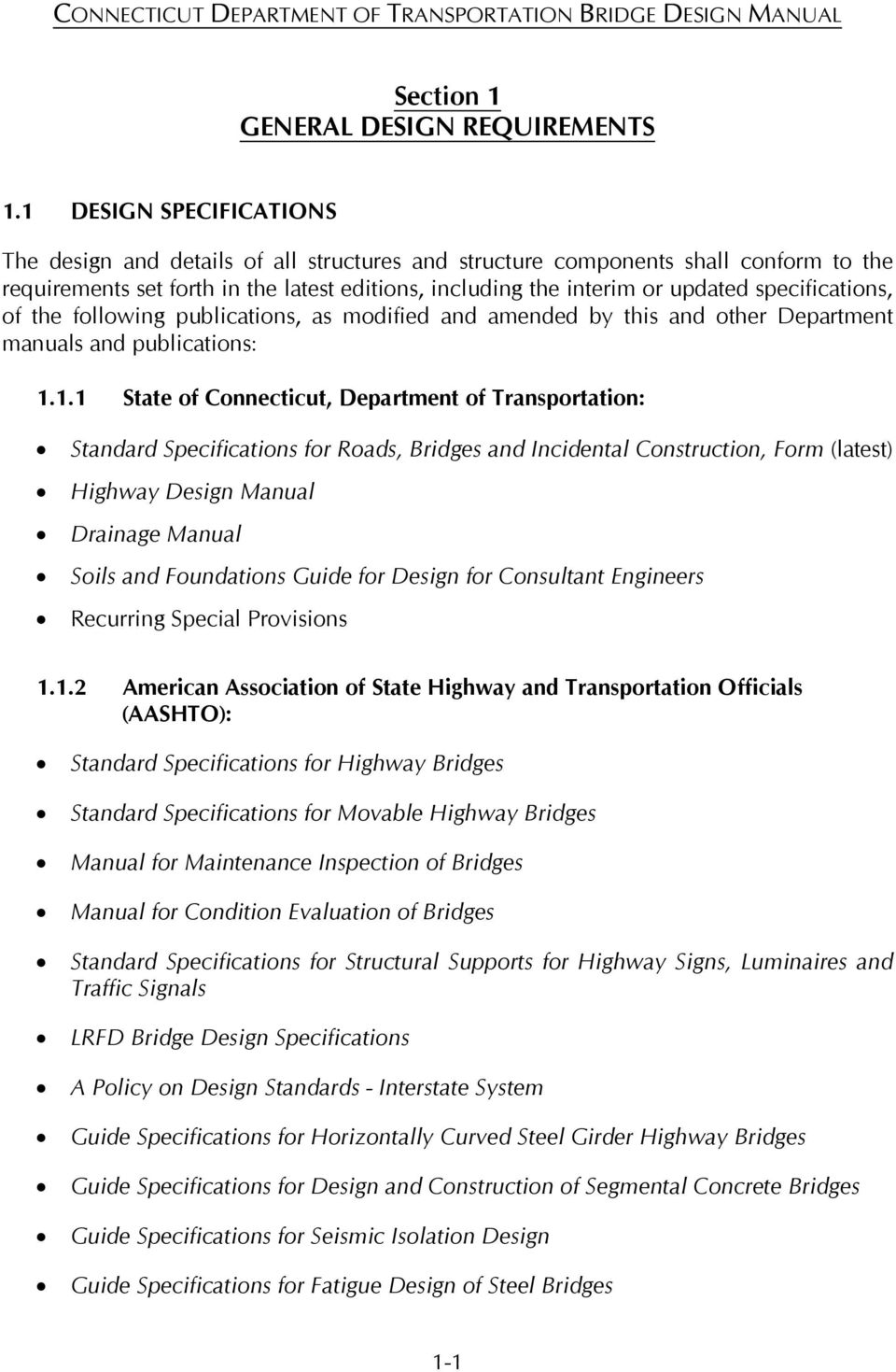 specifications, of the following publications, as modified and amended by  this and other Department