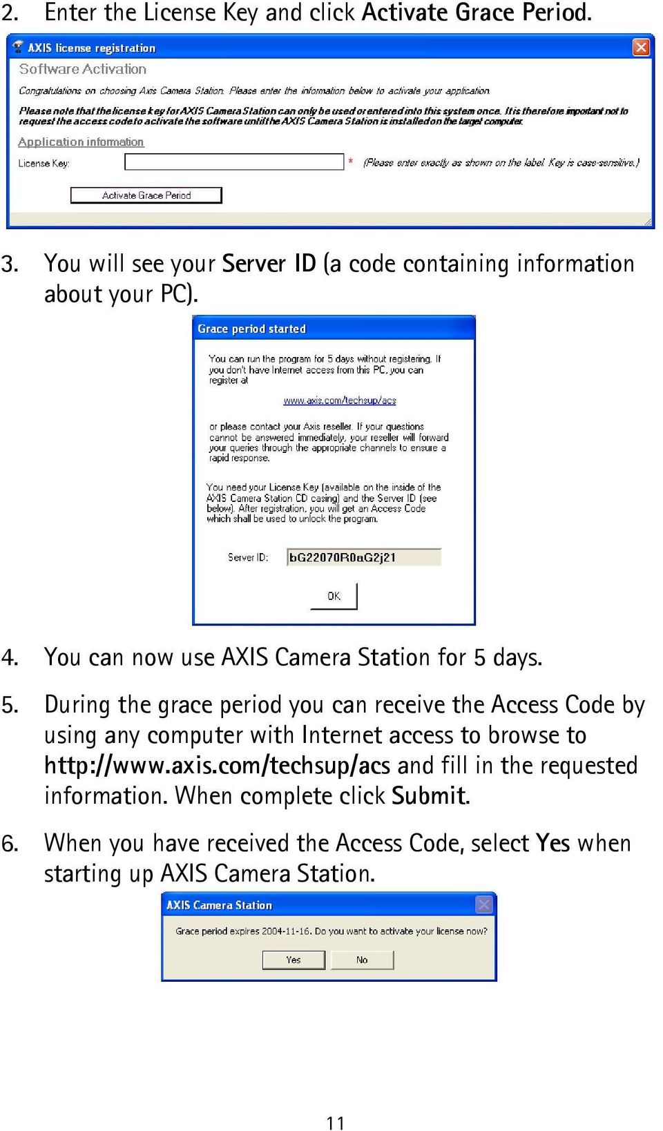 AXIS Camera Station Quick Installation Guide - PDF