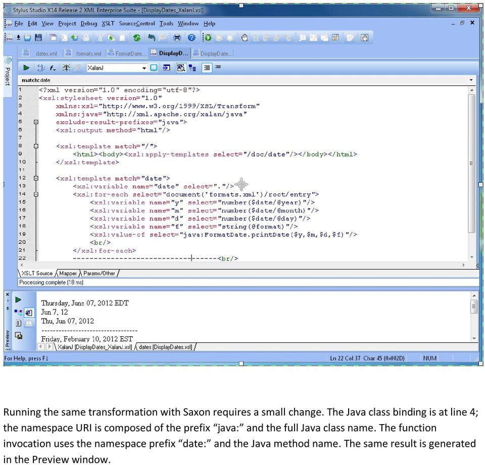 Extending XSLT with Java and C# - PDF