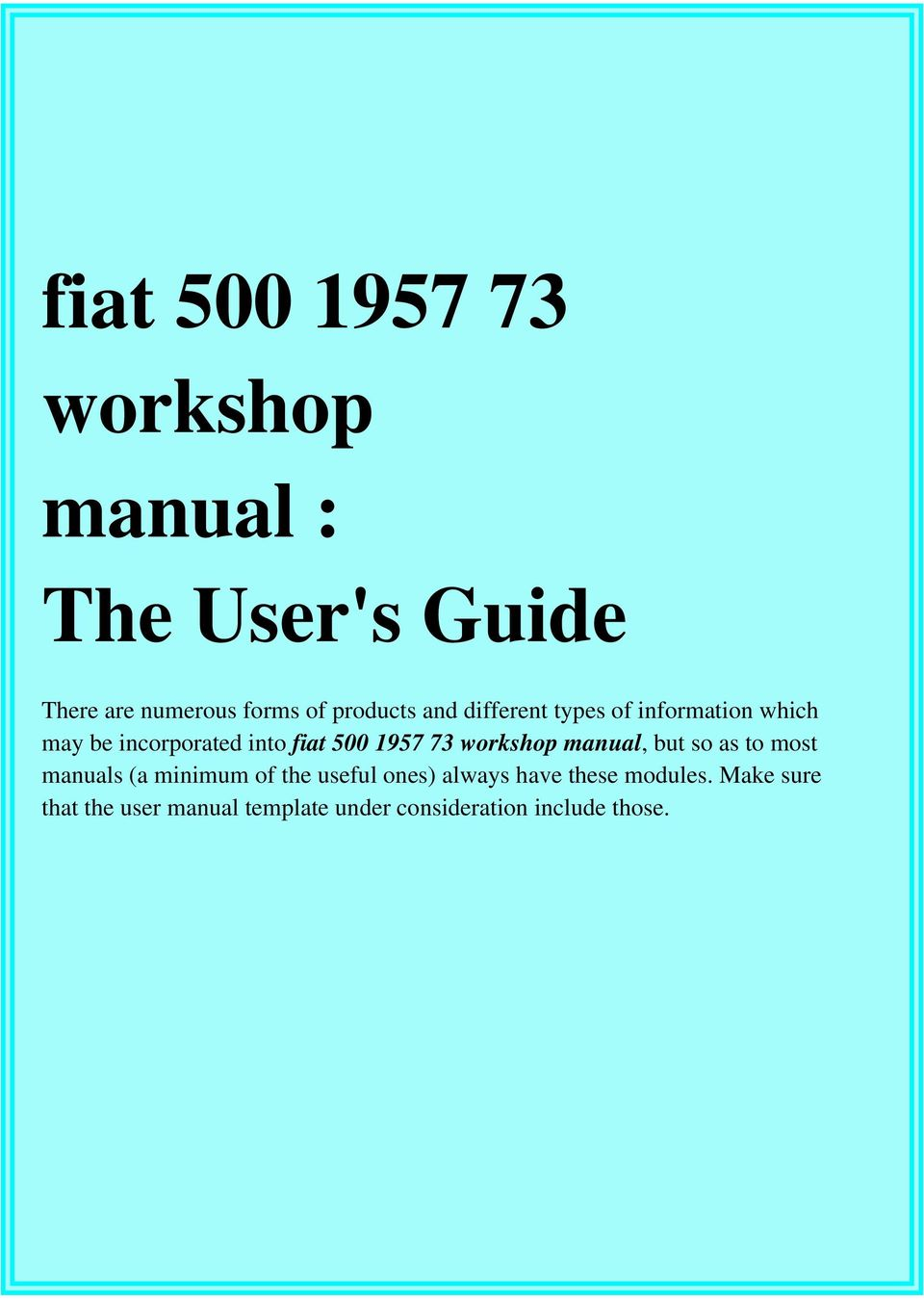 Marelli 1 6 mpi service manual ebook array fiat workshop manual the user u0027s guide pdf rh docplayer net fandeluxe Images