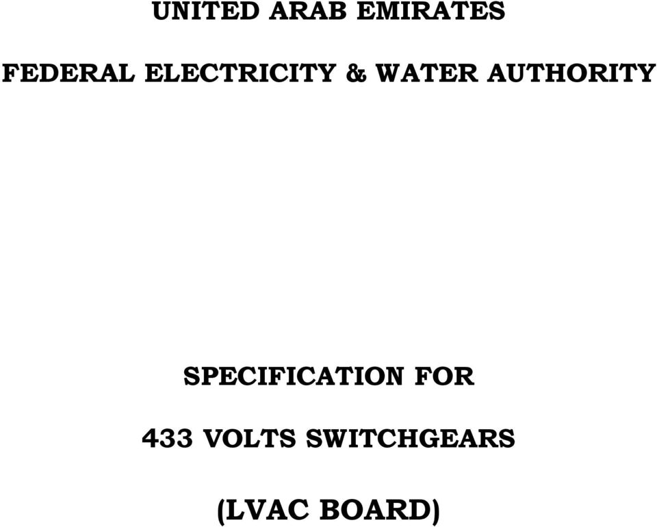 Fewa regulations for electrical installations pdf
