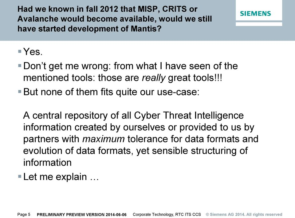 The MANTIS Framework Cyber-Threat Intelligence Mgmt  for CERTs