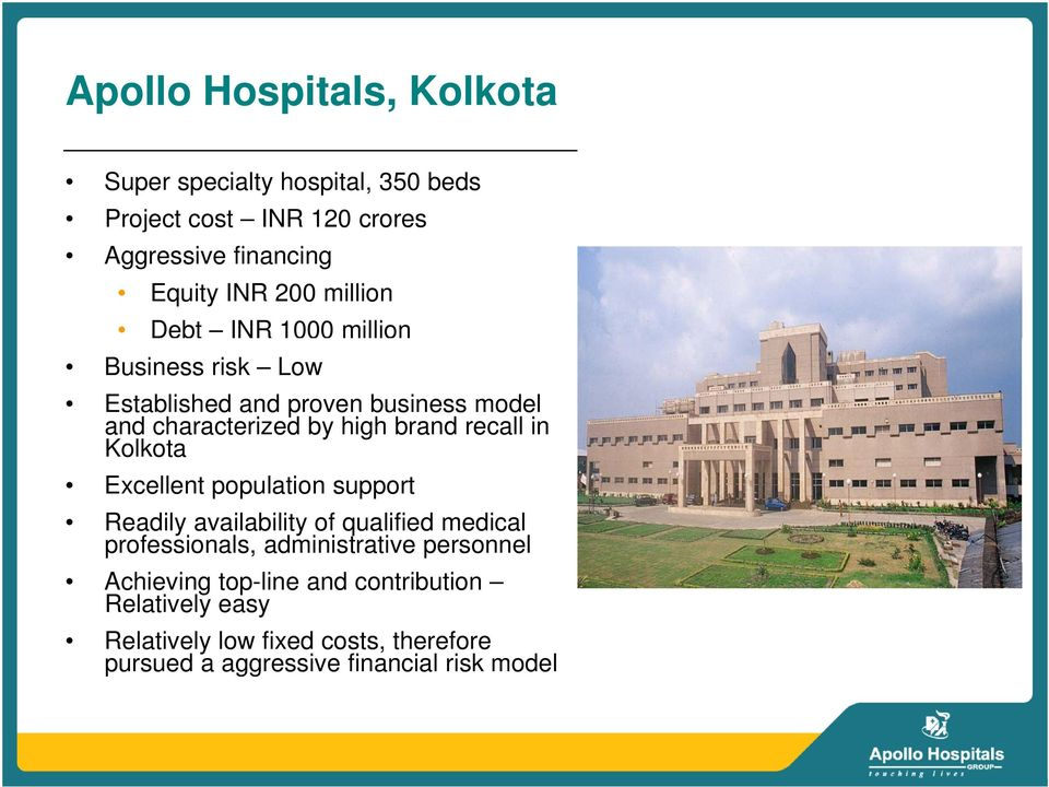 Financing New Hospital Projects Apollo s experience - PDF