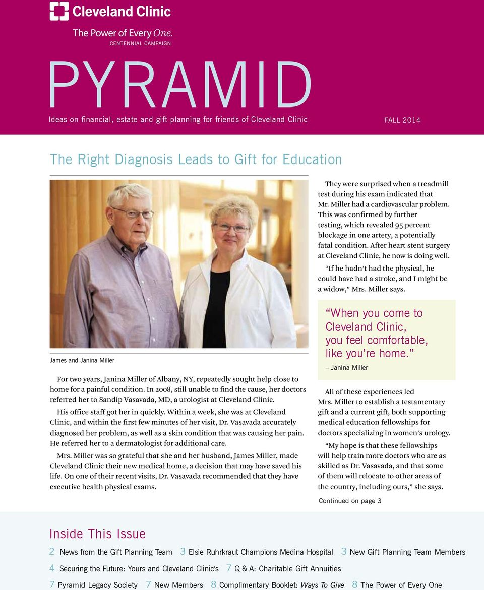 News from the Gift Planning Team - PDF