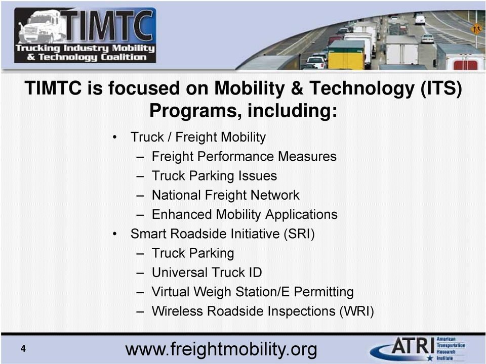 Welcome! Dynamic Truck Routing for Mobility and Productivity