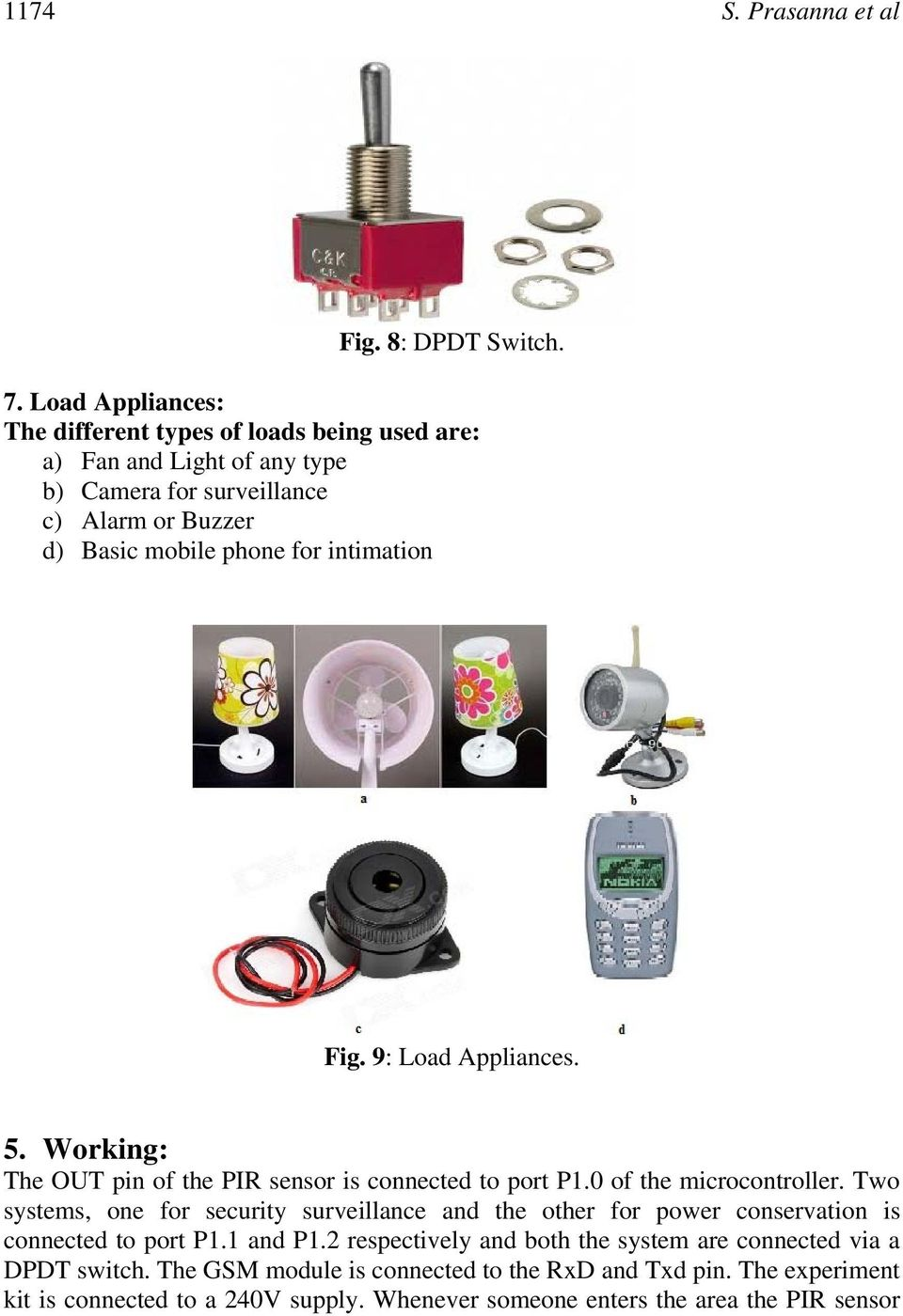 Automated Intelligent Power Saving System And Security Pdf Ac Fan Speed Control Using Android Mobile Microtronics Technologies Intimation Fig 9 Load Appliances 5 Working The Out Pin Of