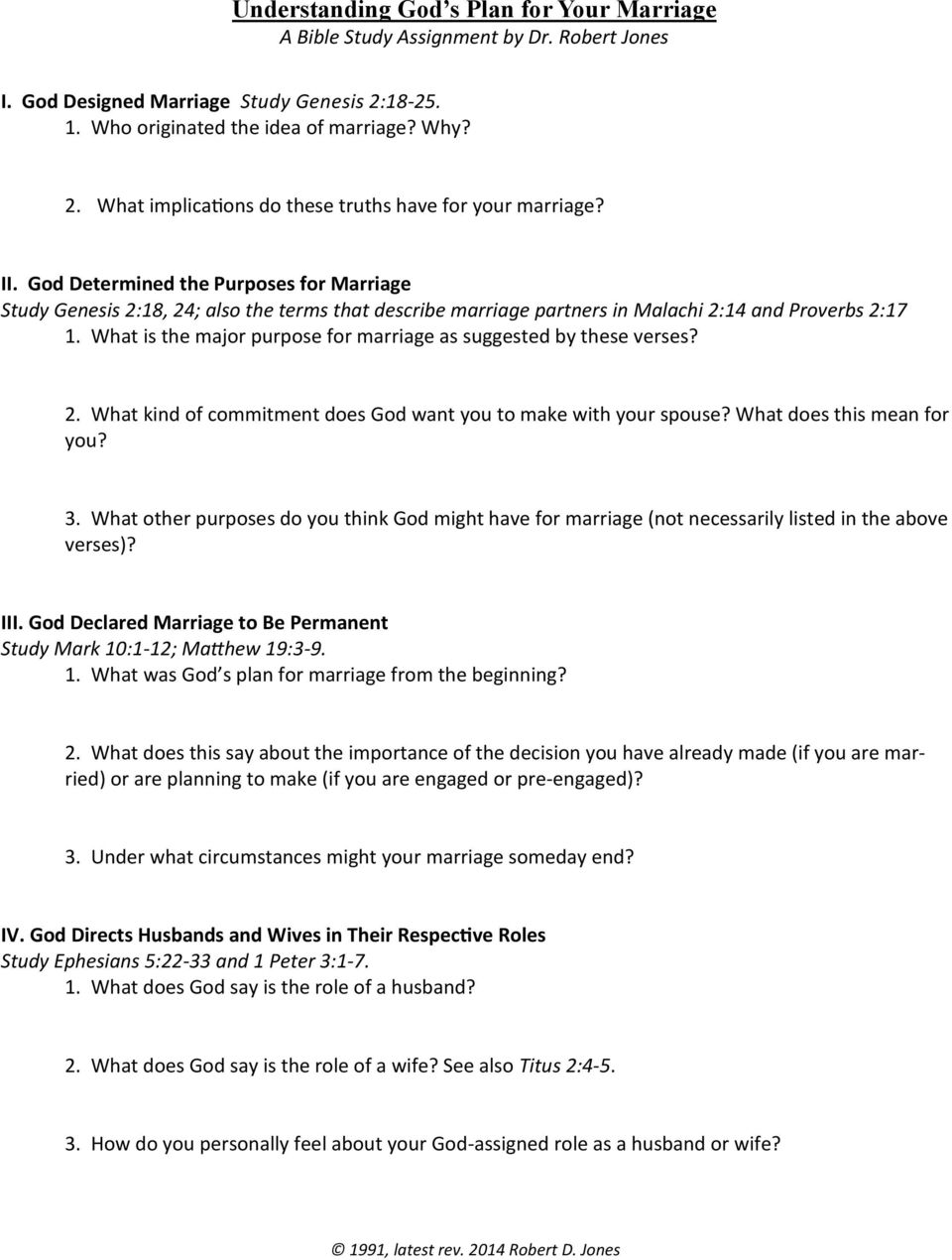 BIBLICAL & THEOLOGICAL FOUNDATIONS OF MARRIAGE - PDF