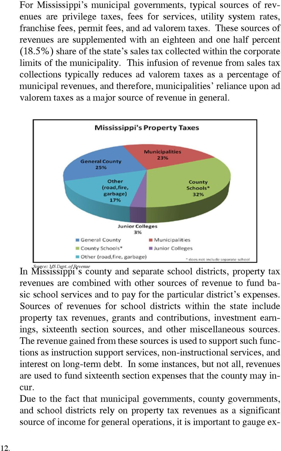 Understanding Mississippi Property Taxes - PDF