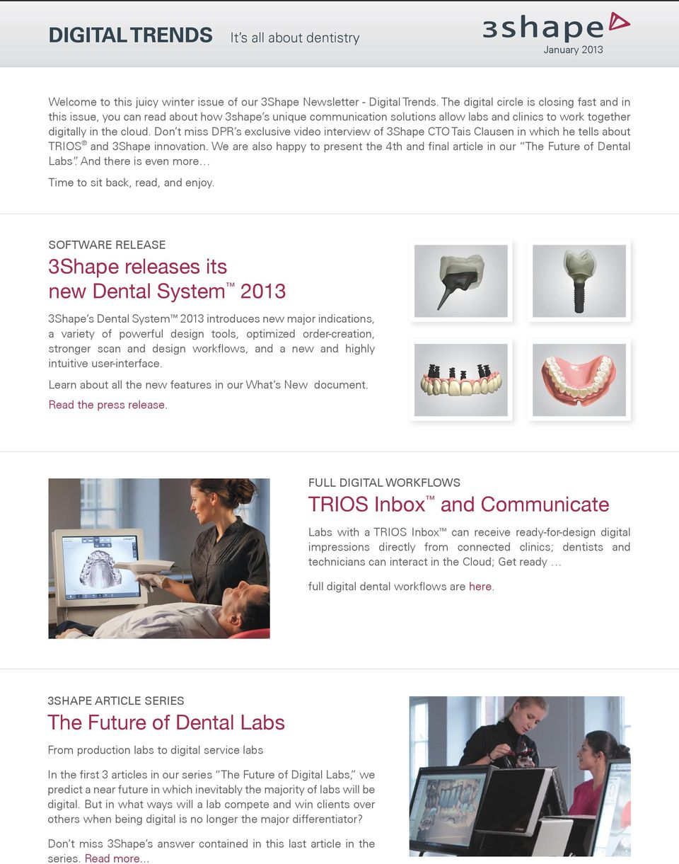 TRIOS Inbox and Communicate - PDF