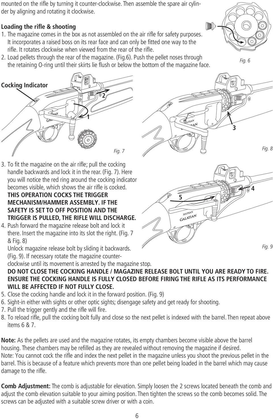 GALATIAN SERIES PCP AIR RIFLE - PDF
