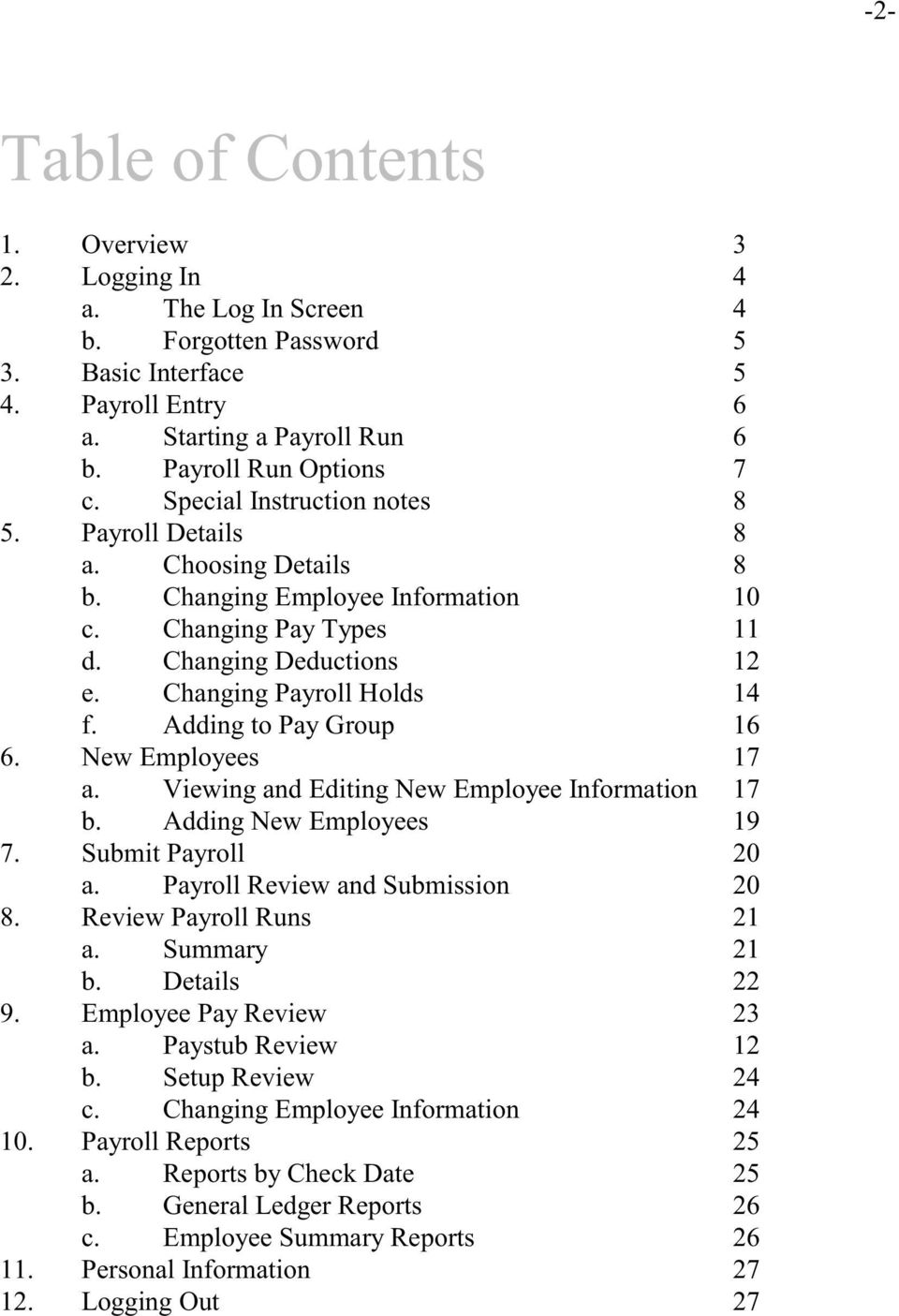 Cyber Pay ONLINE Product Manual Payroll Administrator User Guide - PDF