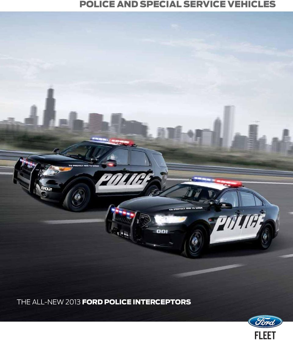 Police And Special Service Vehicles Pdf 2015 Explorer Wiring Harness The All New 2013