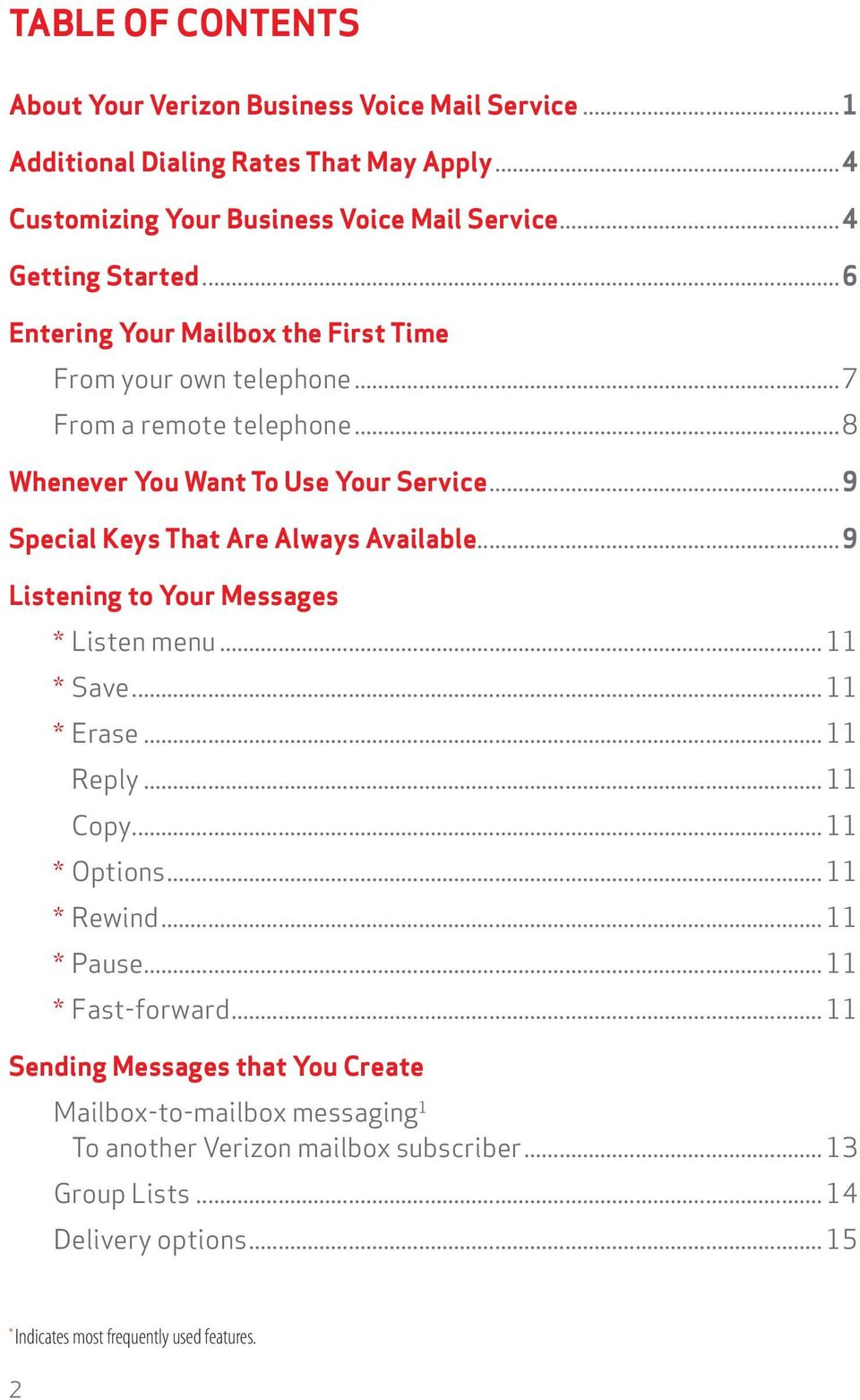 Verizon Voice Mail User Guide Dcdemdnjpava Region Business Pdf