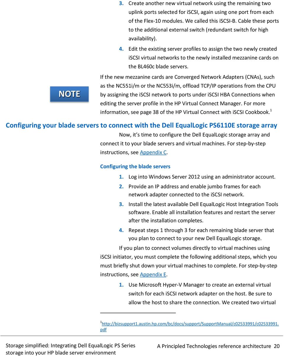 STORAGE SIMPLIFIED: INTEGRATING DELL EQUALLOGIC PS SERIES STORAGE