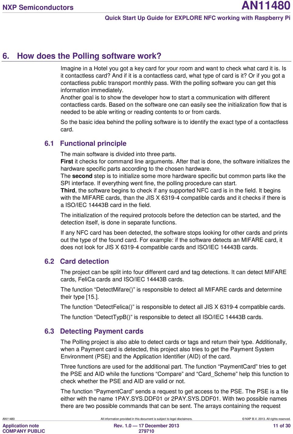 AN Quick Start Up Guide for EXPLORE NFC working with