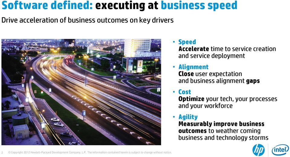 expectation and business alignment gaps Cost Optimize your tech, your processes and your