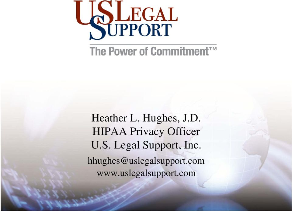 Legal Support, Inc.