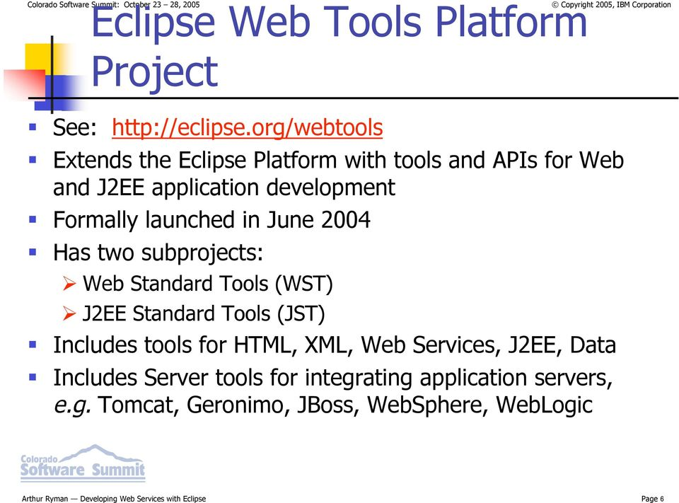 Developing Web Services with Eclipse - PDF