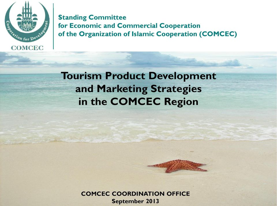 (COMCEC) Tourism Product Development and Marketing