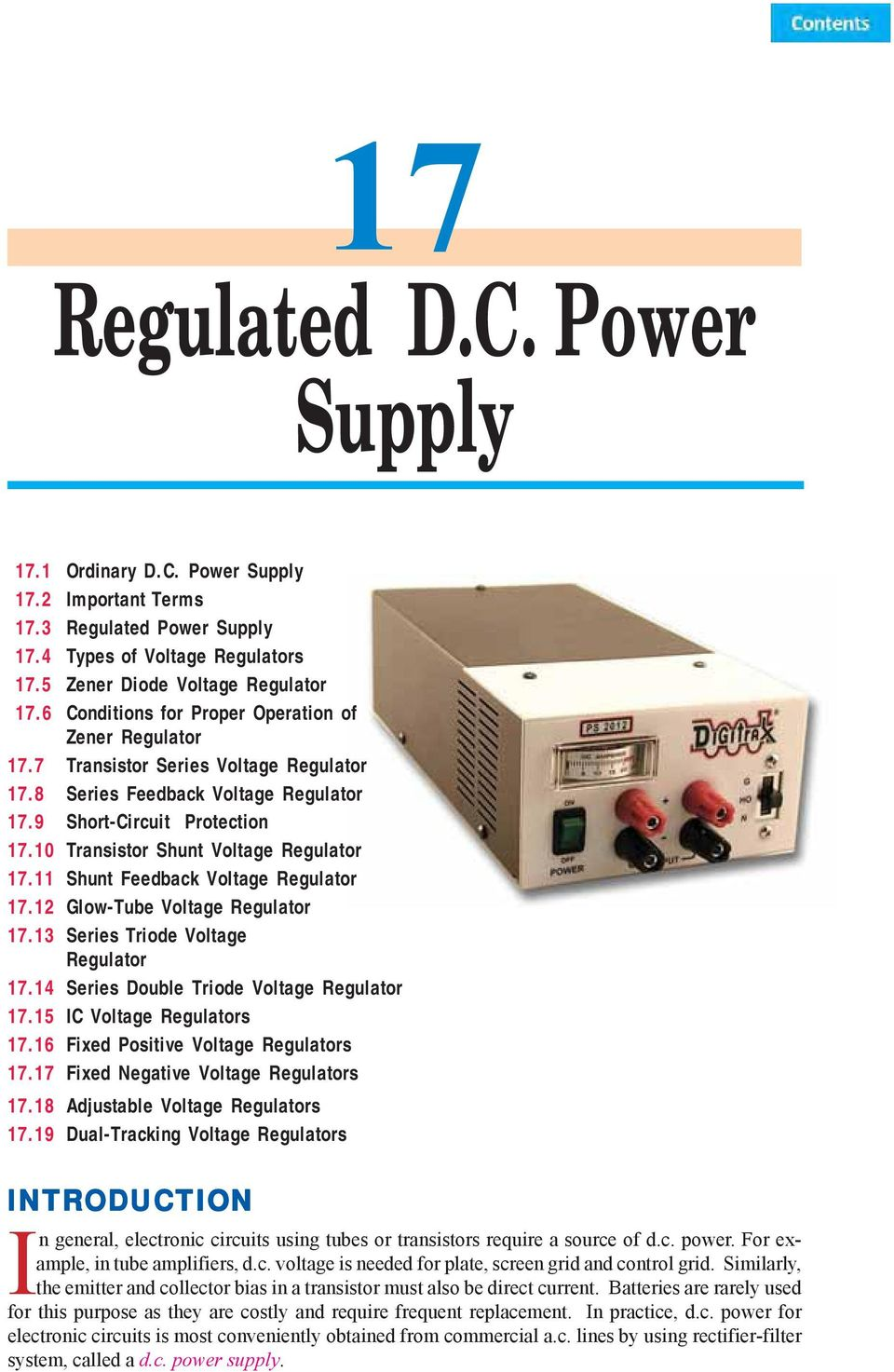 Regulated Dc Power Supply Pdf 32 V 5a With Short Circuit Protection Lm338 9 1710 Transistor Shunt Voltage Regulator 1711 Feedback 1712 2 443
